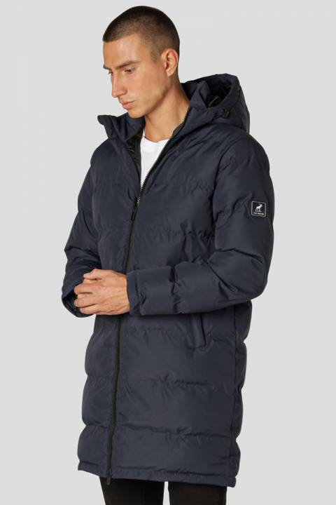 Fat Moose Birk Long Jacket Navy