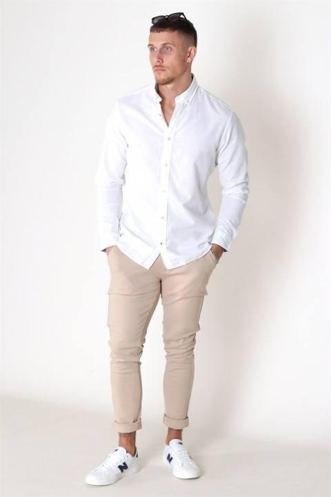 Jack & Jones Summer Skjorte L/S White