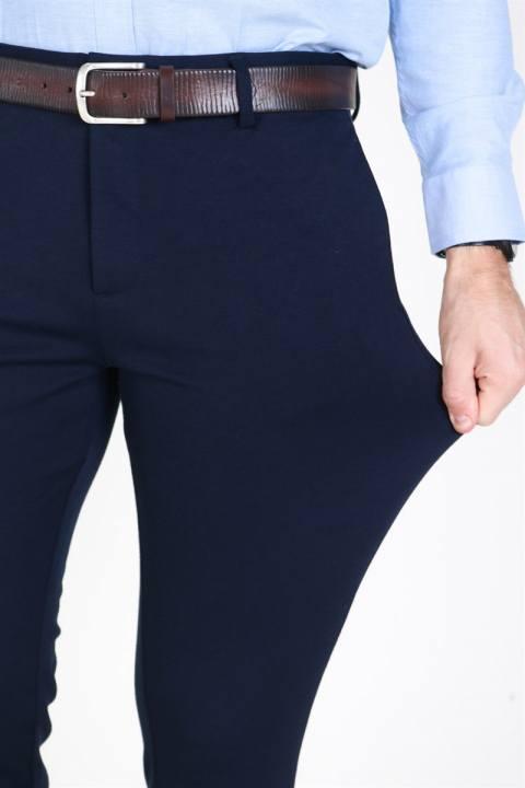 Clean Cut  Milano Jersey Pants Navy