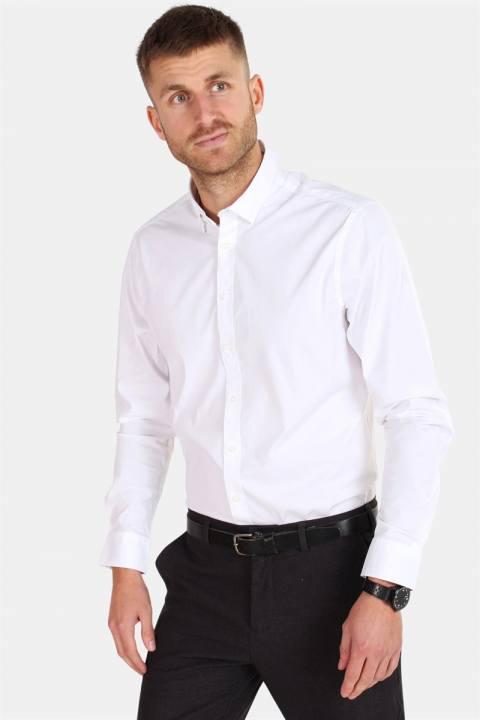 Solid Tyler Skjorte White
