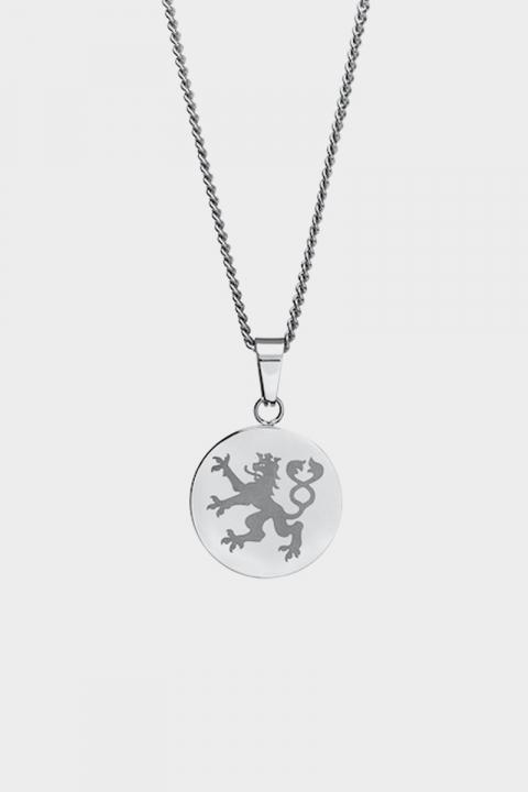 Northern Legacy Lionheart Pendant Halskæde Silver