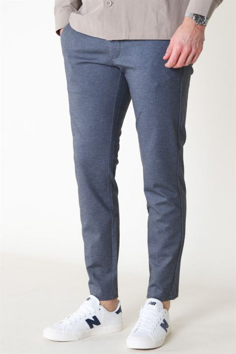 Only & Sons Mark Tap Pant AOP GW 6118 Dark Blue