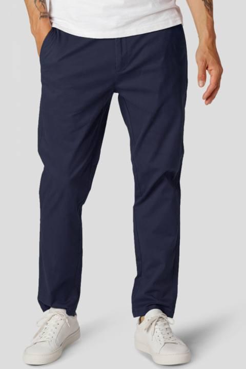 Clean Cut Copenhagen Milano Drake Stretch Pants Navy