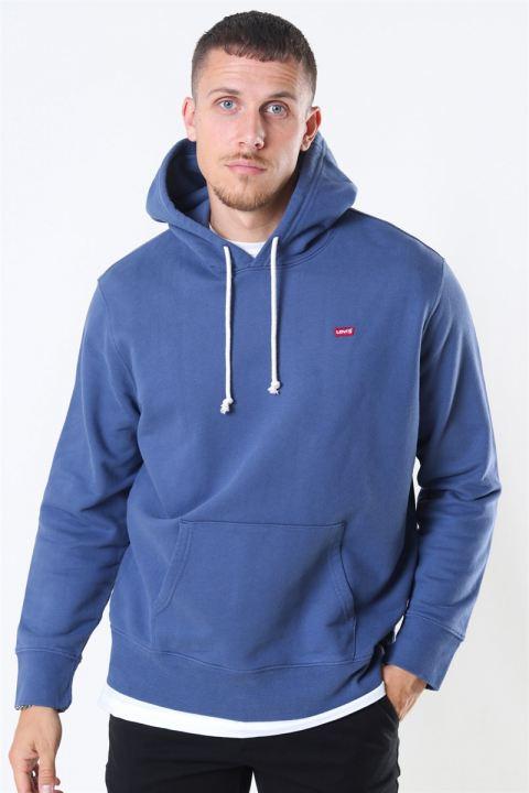 Levis New Original Hoodie Blue