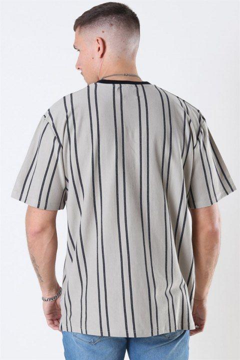 Woodbird Craz Soccer T-shirt Ecru