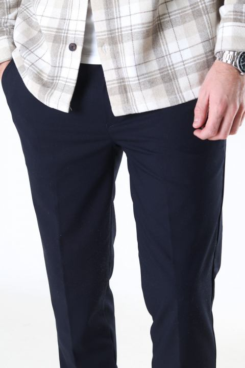 Woodbird Saul Nickel Pants Navy