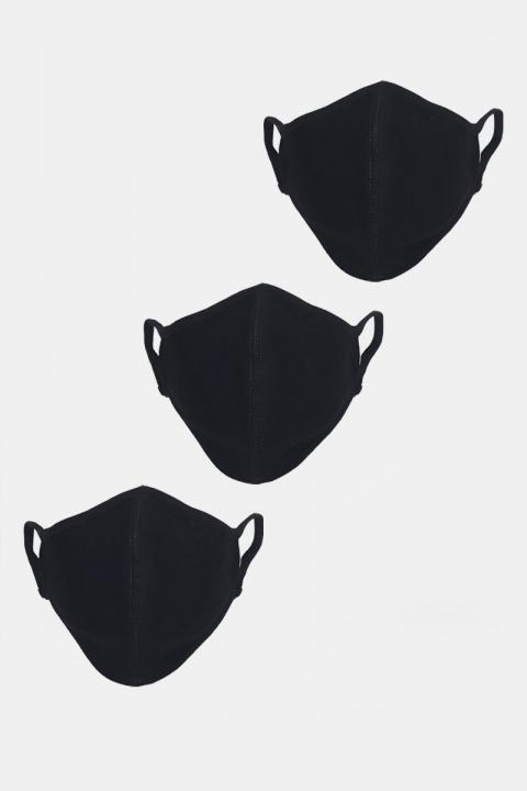 Liebhaveri Stretch Mundbind 3-pack Black