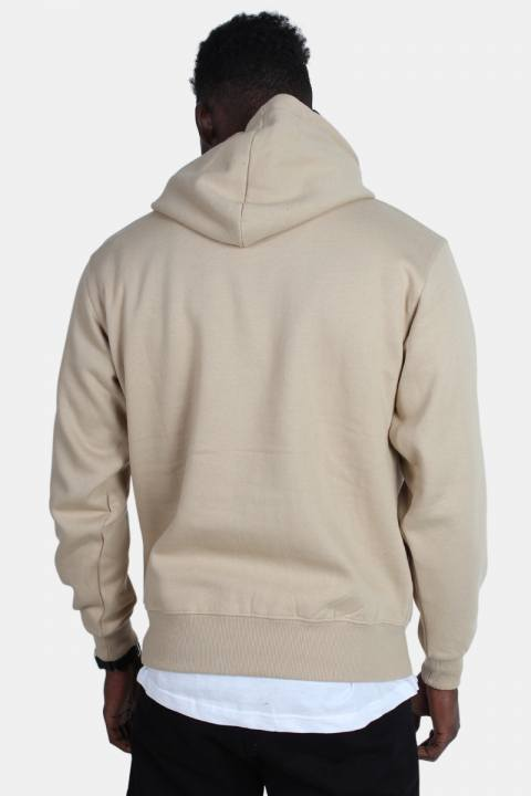 Basic Brand Hooded Sweat Sand
