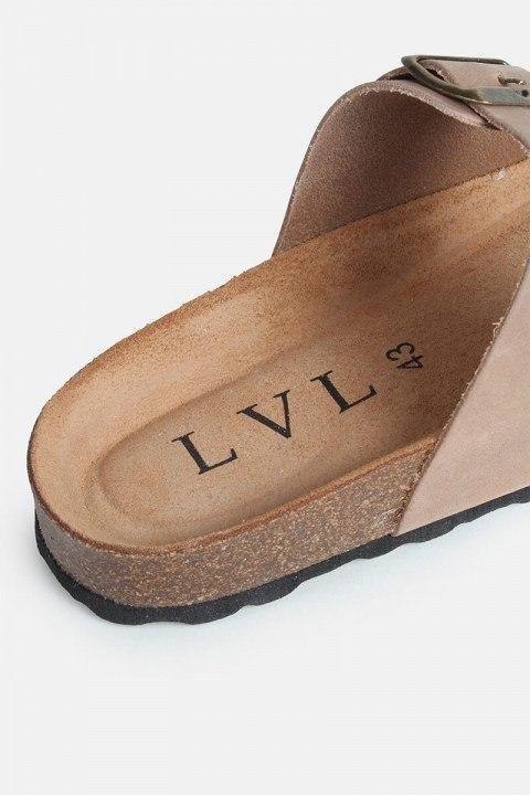 LVL Alex Bio-sandal Taupe