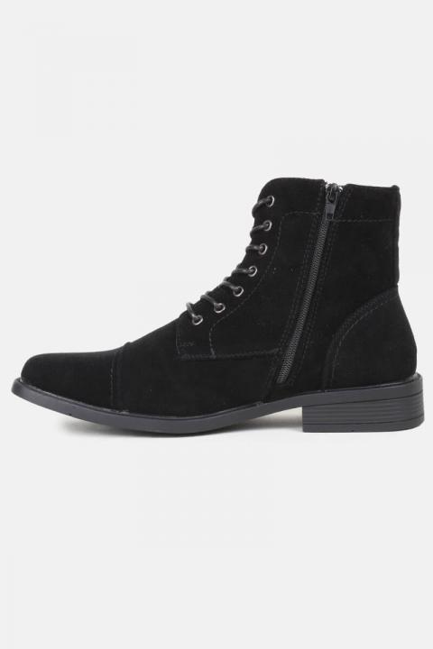 Køb Boots Suede Black