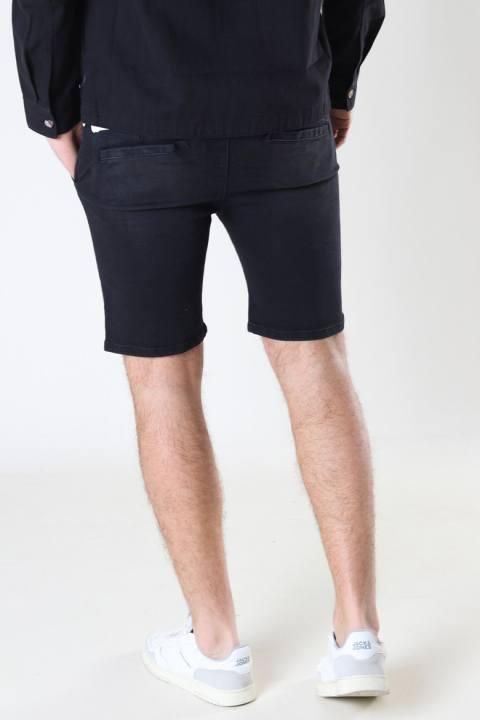 Denim project DPJogg shorts 046 Black Washed