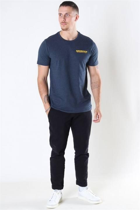 Solid Matti SS T-shirt Insignia Blue