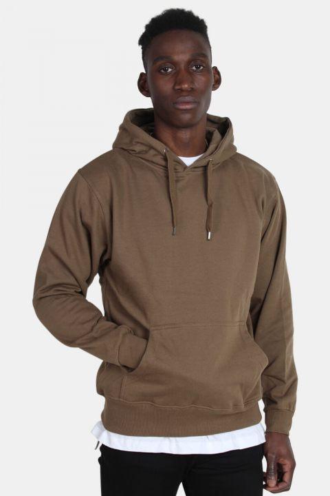 Bilde av Basic Brand Hooded Genser Army
