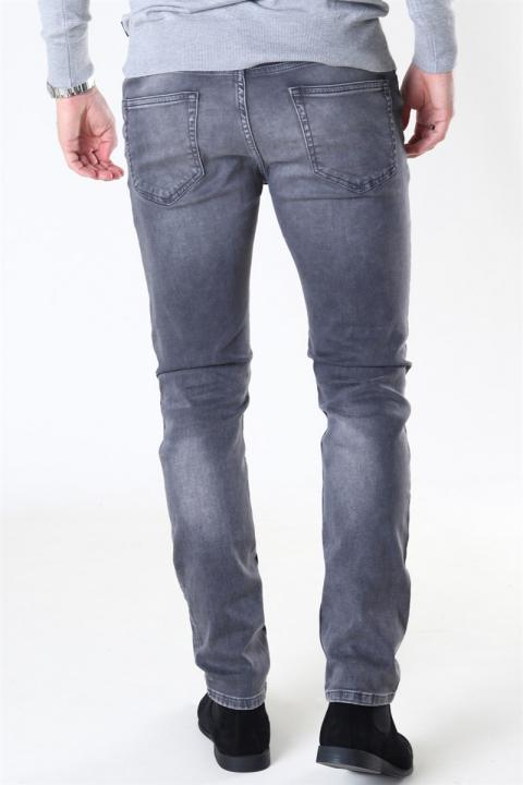 Only & Sons Loom Life Slim Zip Grey Denim