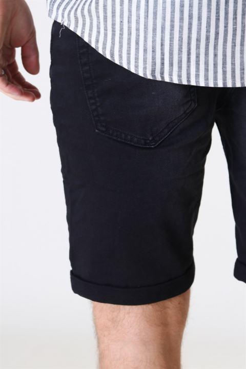 Jack & Jones Rick Icon 010 Shorts Black Denim