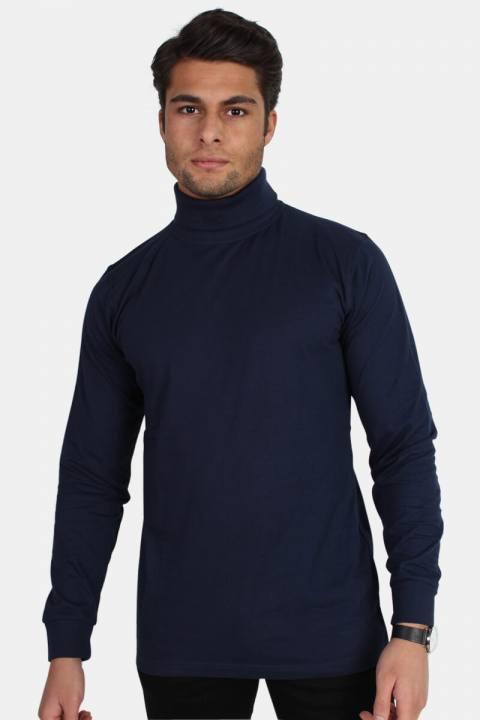 Billede af Basic Brand Turtleneck Blue Navy
