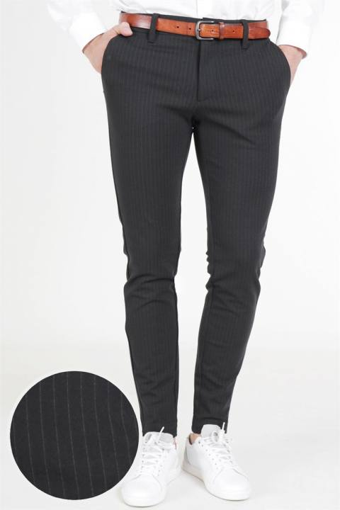 Only & Sons Mark Pants Black Stripe Noos