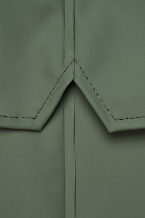 Rains Long Jacket 19 Olive