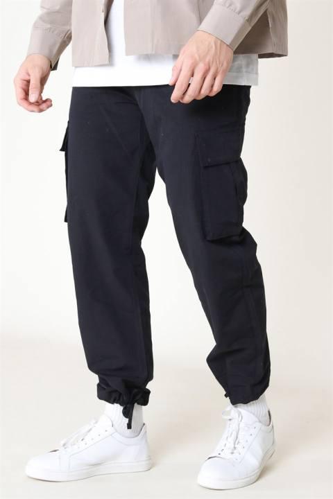 Woodbird Combat Cargo Pants Black