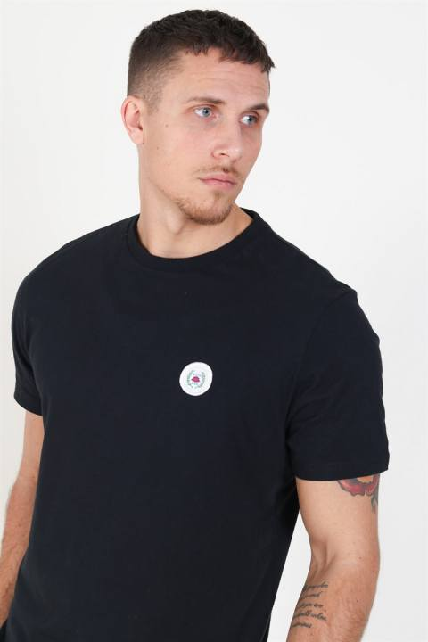 Woodbird Our Jarvis Patch T-shirt Black