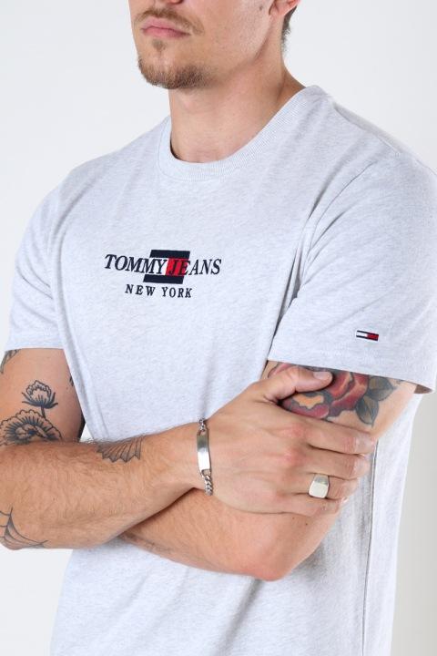Tommy Hilfiger TJM TIMELESS TOMMY TEE 1 Silver Grey Htr
