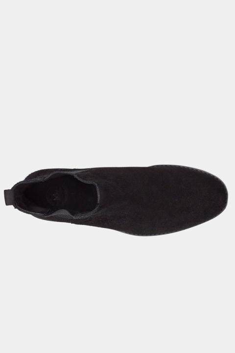 Kronstadt Suede Chelsea Boots Black