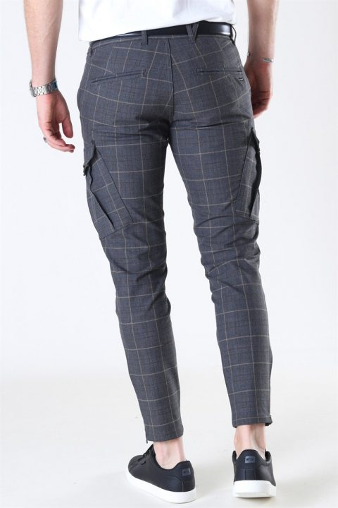 Gabba Pisa Cargo Nili Check Pants Brown Check