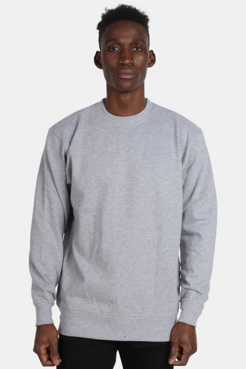 Basic Brand Crewneck Grey