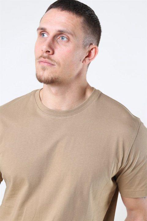 Selected Norman 180 SS O-Neck T-shirt Kelp