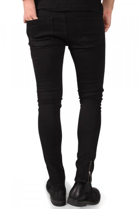 Liebhaveri Chris  Zip Jeans Black