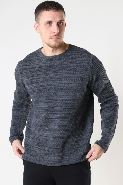 Clean Cut Copenhagen Peter Knit Dark Grey/Black