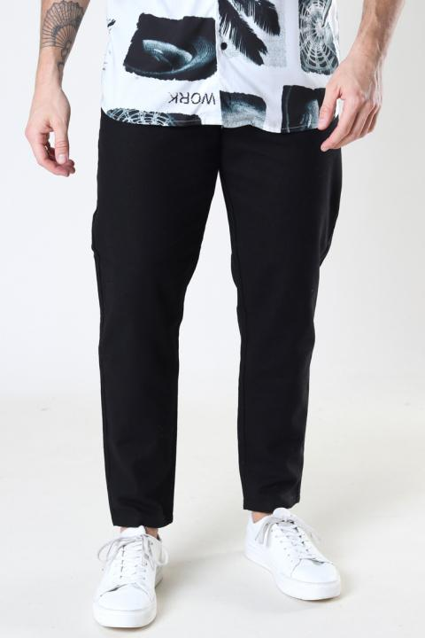 ONLY & SONS ONSLEO LINEN MIX GW 3002 NOOS Black