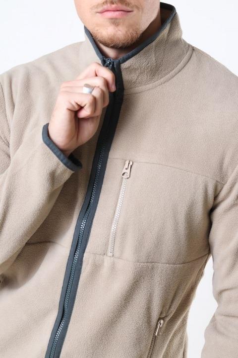 Only & Sons Davis Life Fleece Jacket OTW Chinchilla