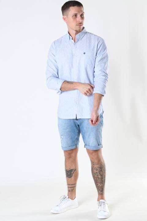 Clean Cut Copenhagen Chris Stretch Shorts 3002 3002 Light Blue Denim