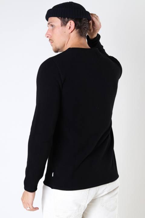 Kronstadt Pep Cotton knit Black