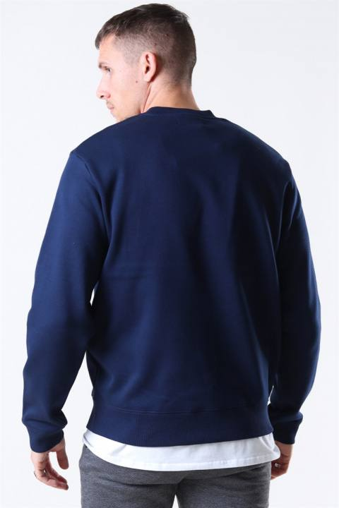 Fred Perry Graphic Sweatshirt Carbon Blue
