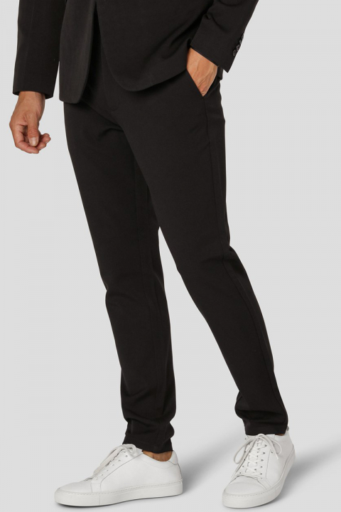 Køb Clean Cut Copenhagen Milano Cole Stretch Nano Pants Black