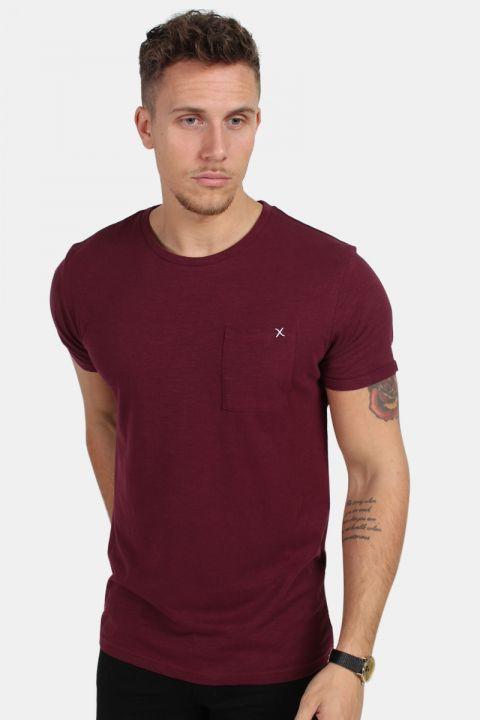 Clean Cut Kolding T-shirt Bordeaux