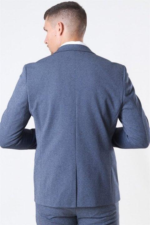 Clean Cut Milano Jersey Blazer Denim Melange