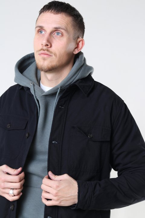 Fat Moose Kyle Overshirt Black