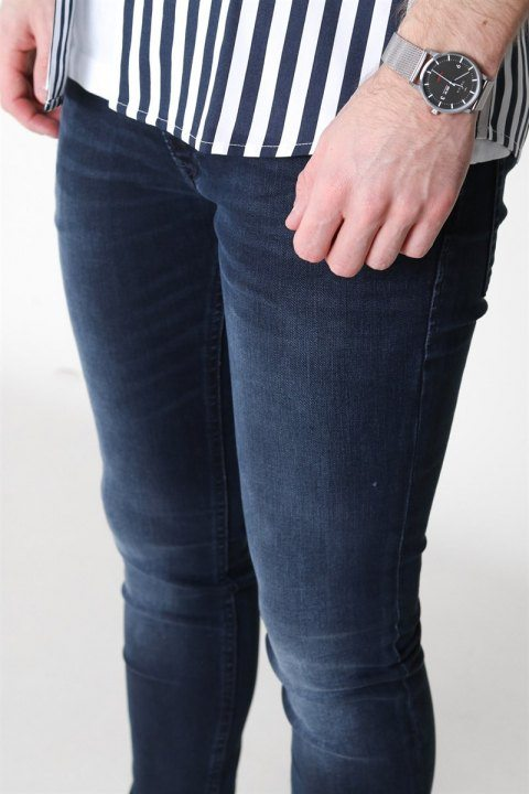 Jack & Jones Liam Original AGI 004 Jeans Blue Denim