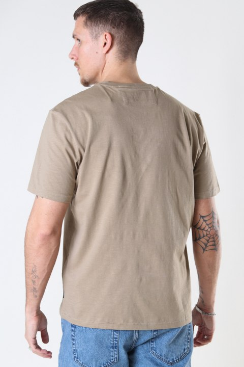 ONLY & SONS ONSMILLENIUM LIFE REG SS TEE Chinchilla