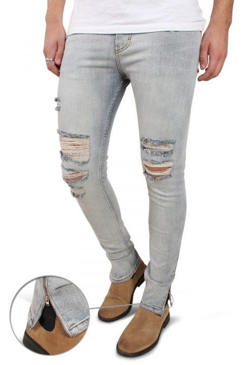 Image of Liebhaveri Malle Jeans Light Blue Trash (122013428275-30_32)
