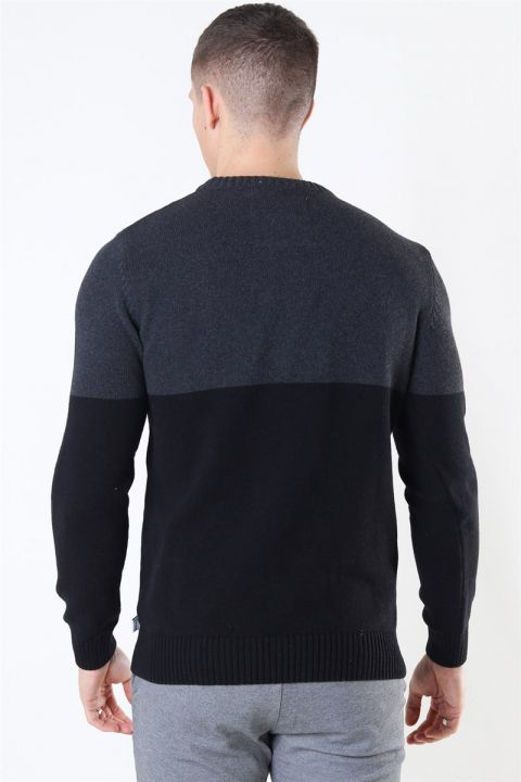 Kronstadt Lukas Crew Recycle Strik Charcoal/Black