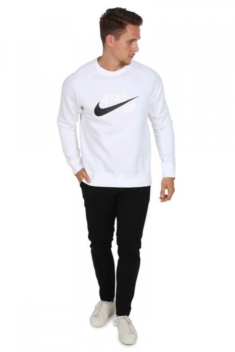 Nike SB Icon Crewneck Sweat White