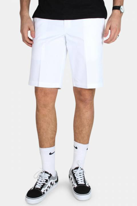 Køb Dickies Slim Stgt WK Shorts White