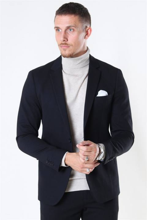 Clean Cut Milano Jersey Blazer Black