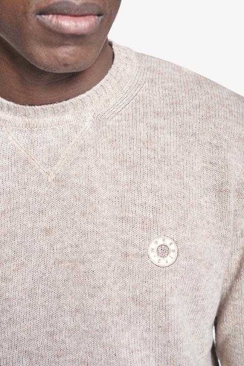 Woodbird Kriller Wool Knit Sand