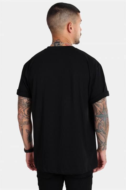 Basic Brand Oversize T-shirt Black