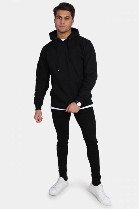 Basic Brand Hooded Sweat Black